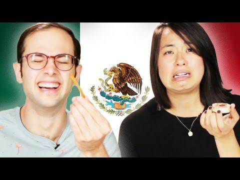 Americans Taste Test Mexican Snacks