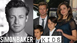Simon Baker Kids 2018- Son and Daughter