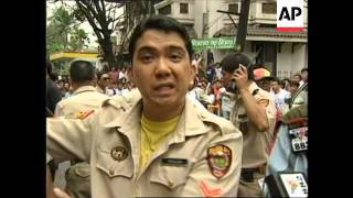 Philippines: Manila: Armed Bank Robbery Attempt Foiled - 1996