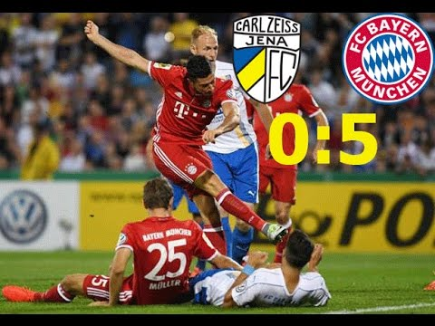 Carl Zeiss Jena vs Bayern Munich (0-5) ● All Goals & Highlights (Alle Tore) ● DFB Cup 2016