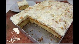 Dieser Kuchen schmeckt so prickelnd herrlich locker und fruchtig  I Fantakuchen vom Blech