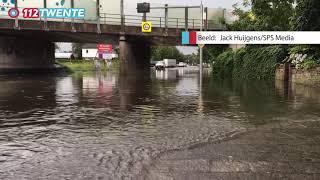 112Twente - Wateroverlast Hengelo 15-8-2017