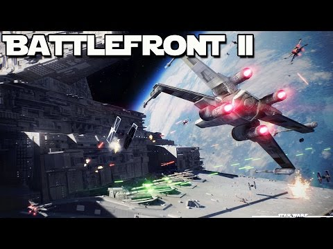 Star Wars Battlefront 2 SECRET Info SPACE BATTLES & Single Player (Star Wars Battlefront II)