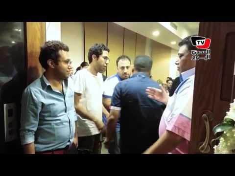 عزاء والدة الفنان ايمن منصور  - 19:21-2017 / 6 / 18