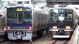 JR西日本207系リニューアル車 Z22編成運用開始 大阪駅 【JR West 207 series】