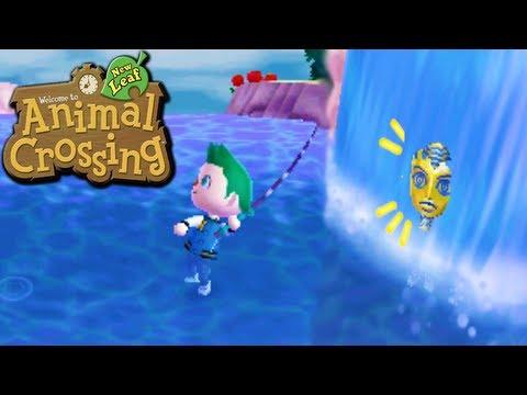Animal Crossing: New Leaf - Water Walking Glitch! (Nintendo 3DS Gameplay Walkthrough Ep.71)