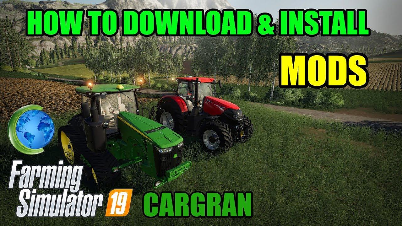 How to Download and Install Mods for FS19 | Farming Simulator 19 | Farming  Simulator 2019
