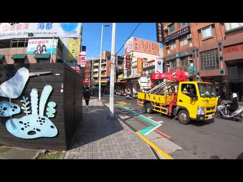 ⁴ᴷ⁶⁰ Walking New Taipei City, Taiwan : Tamsui (Old Street, Waterfront) | 淡水 (December 17, 2019)