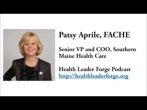 """Patricia """"Patsy"""" Aprile, Senior VP and COO, Southern Maine Health Care"""