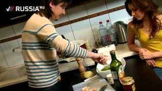 Готовим салат с индейкой
