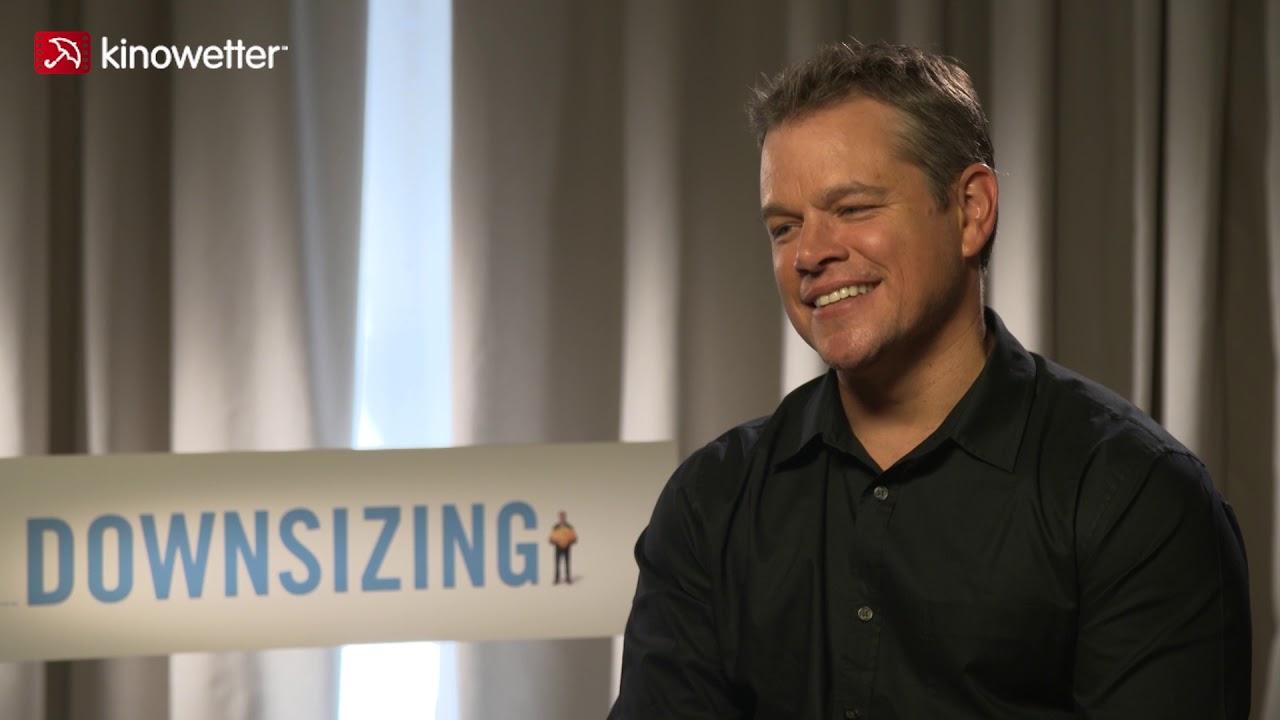 Download Interview Matt Damon DOWNSIZING