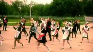 ФЛЕШМОБ Подарок ВЫПУСКНИКОВ Родителям и Учителям 17 школа Ковров 25 мая 2013 г