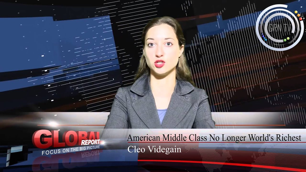 American Middle Class No Longer World's Richest - YouTube