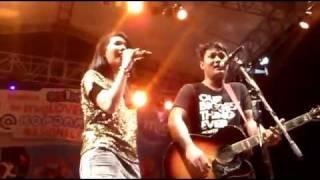 Last Child feat. Giselle - Seluruh Nafas Ini @ KopNas Mig33 2012 Senayan