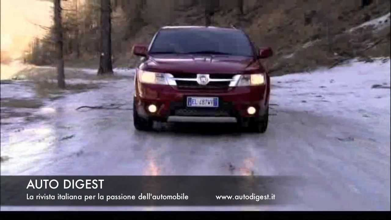 fiat freemont awd 4x4 test drive youtube. Black Bedroom Furniture Sets. Home Design Ideas