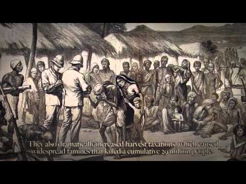 The British Empire - genocides, wars, slavery, torture and m