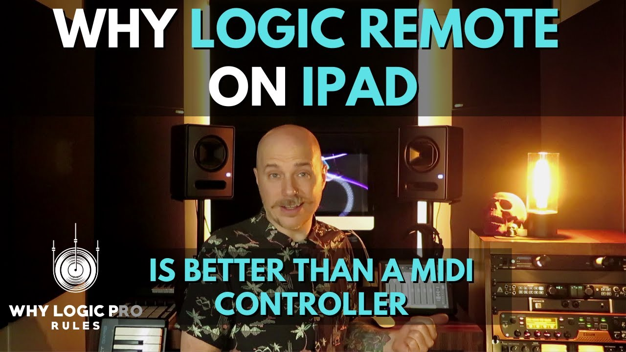 Why Logic Remote on iPad is the Best Controller You Can Buy For Logic