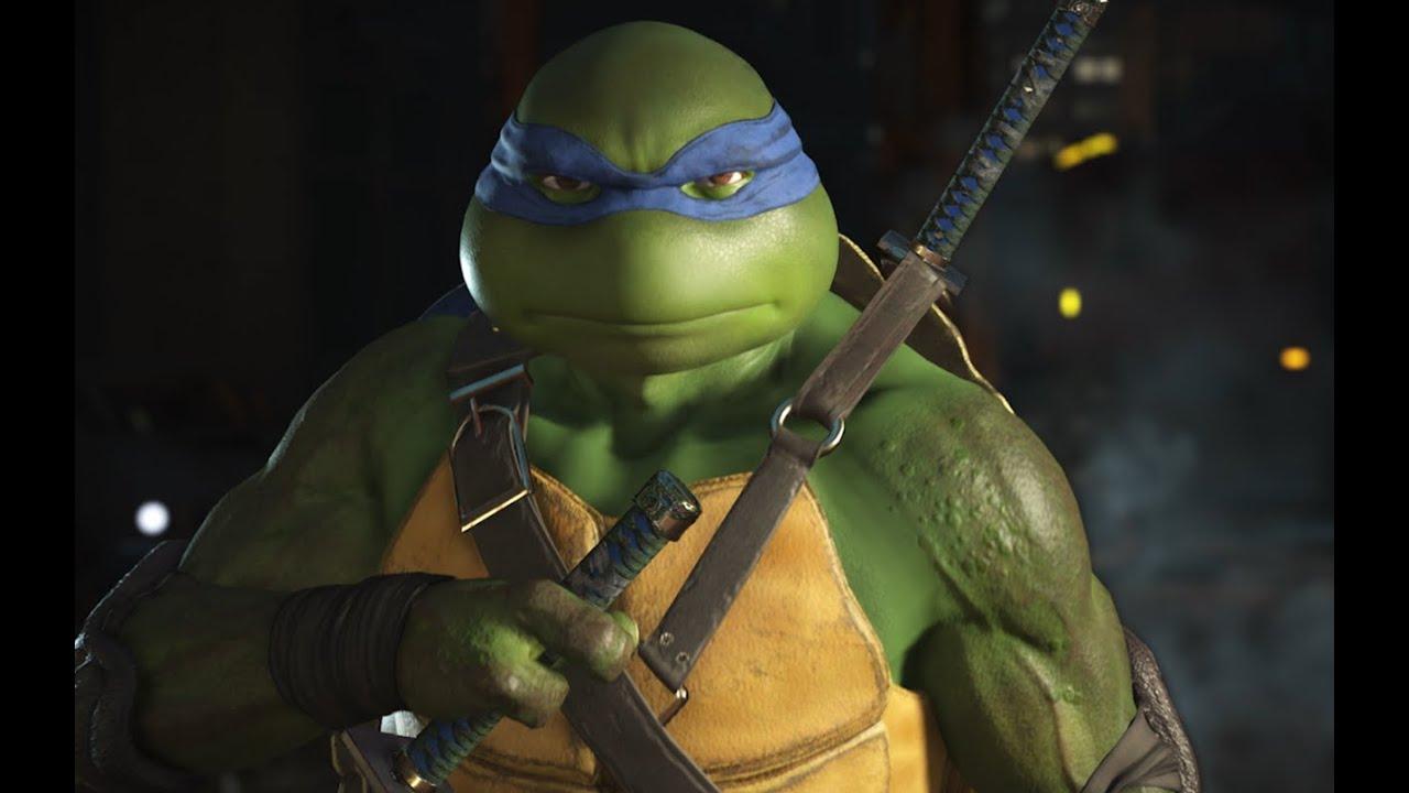 15 Sassy Teenage Mutant Ninja Turtle Intros from Injustice 2