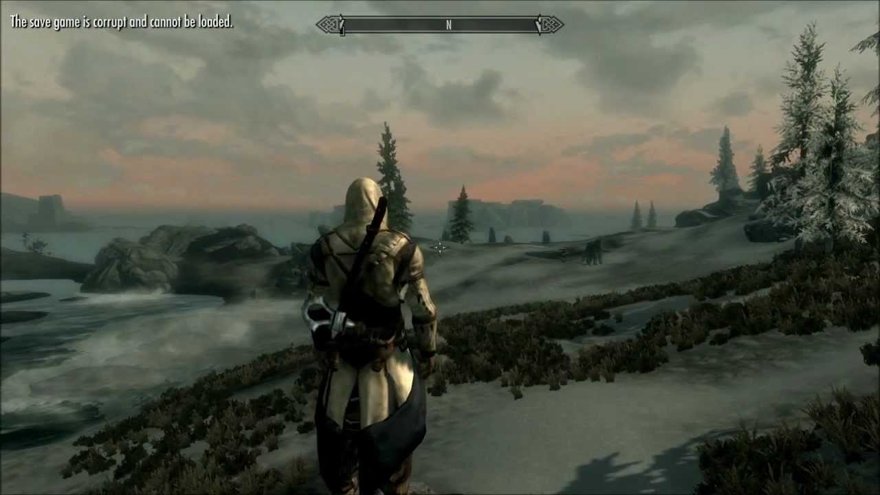 Assassin S Creed 3 Connor In Skyrim Youtube