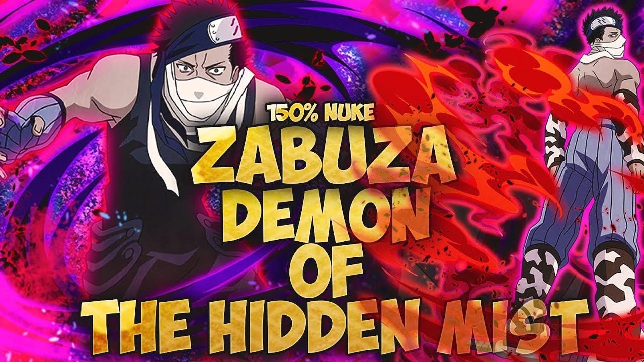 Zabuza Momochi Demonic Presence 5  Naruto Shippuden