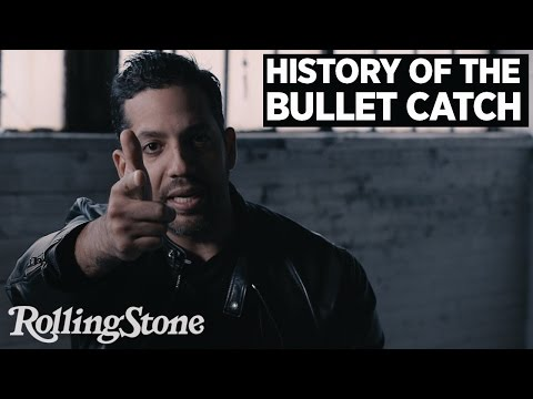 David Blaine Recalls The Deadly History of the Bullet Catch
