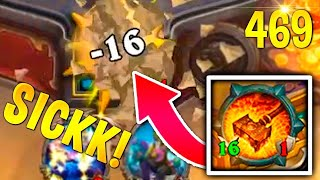 SICK DOOMHAMMER OTK! HEARTHSTONE Best Daily FUNNY and WTF Moments 469!