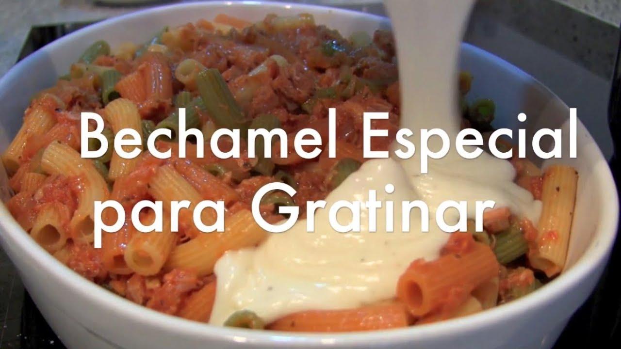 como preparar salsa bechamel casera