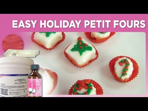 Easy Holiday Petit Fours By Www SweetWise Com