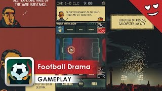Football Drama Gameplay (iOS & Android) It's more than just football manager