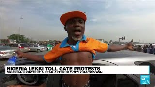 'We want justice': Nigerian youths protest a year after bloody crackdown • FRANCE 24 English