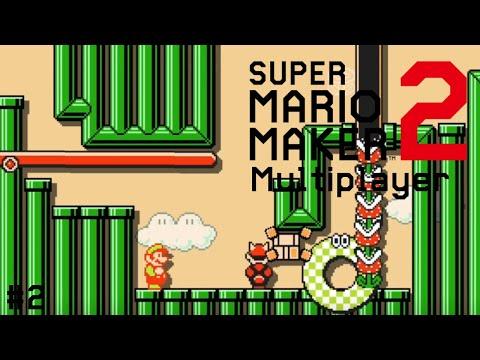 Mario Maker Multiplayer │ An actually good level │ #2
