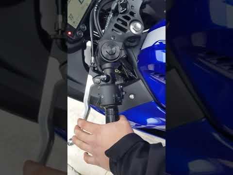 R25 2020 YAMAHA ISTANBUL MOTOR TESLIM ANI