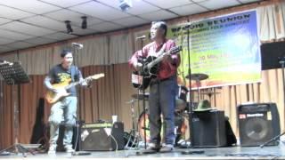 Brian Aliping Sings Longayban Song, May 20, 2013