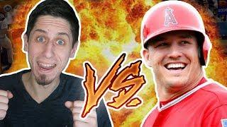 PLAYING VS PRO BASEBALL PLAYER - MLB 18 THE SHOW