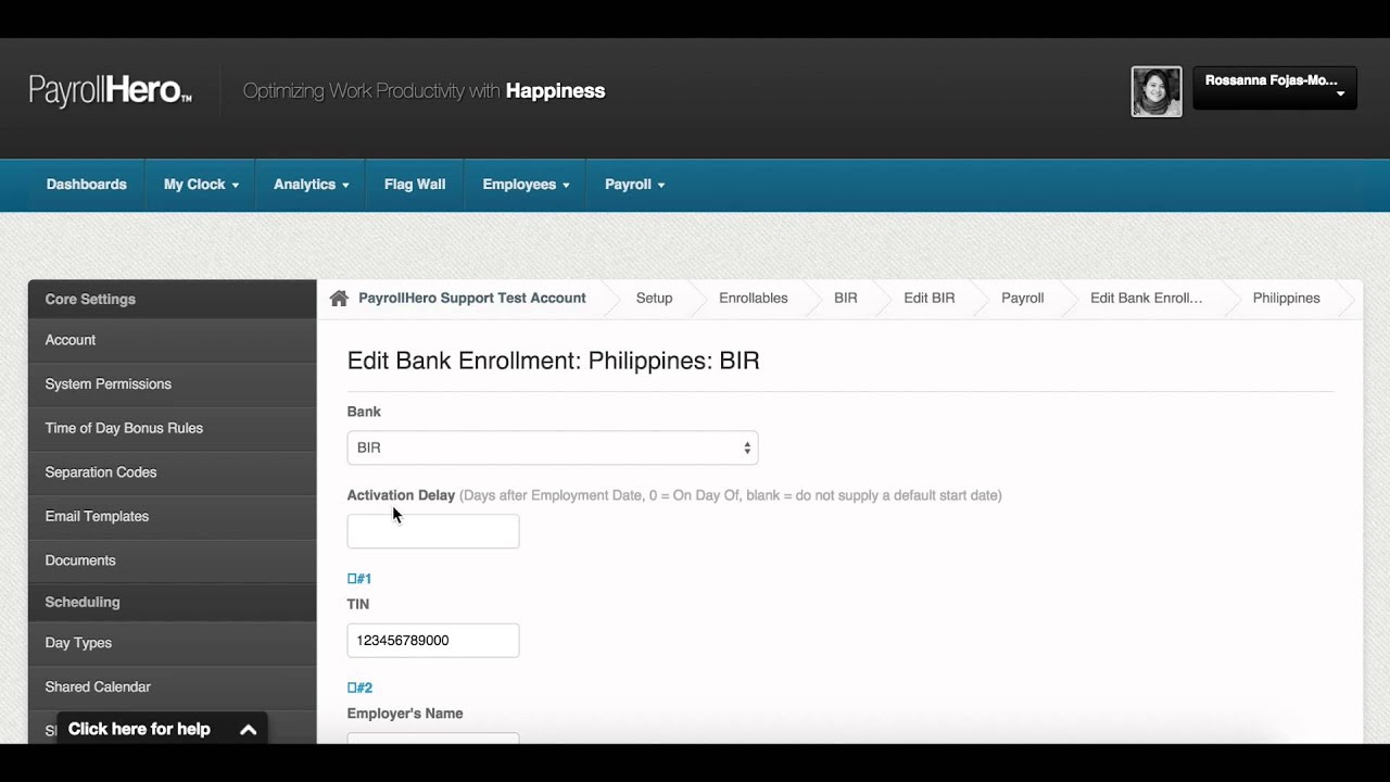 PayrollHero Payroll: How to Add Company Details for Government Payments (Philippines)