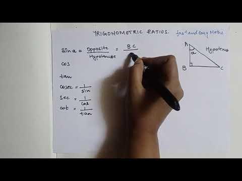 Easiest Way To Remember Trigonometric Ratios. SOH CAH TOA
