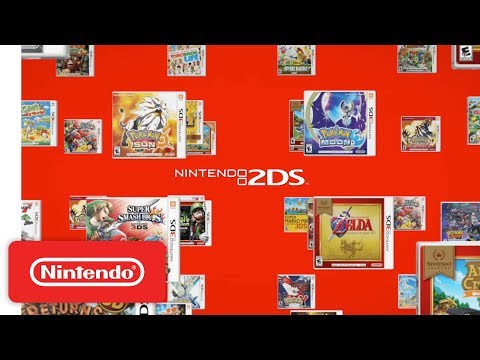 ducing Scarlet Red Nintendo 2DS