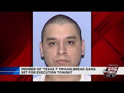 'Texas 7' member scheduled for execution remembered for arrogance during trial