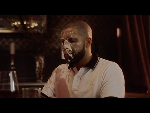 Drake gets Cake in his face featuring Tyra Banks