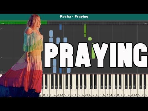 Praying Piano Tutorial - Free Sheet Music (Kesha)