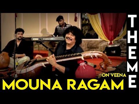 Mouna Ragam Theme On Veena