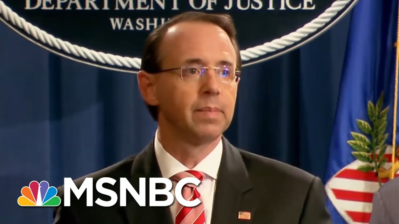 NYT: Rod Rosenstein Discussed Secretly Taping Trump And 25th Amendment | The 11th Hour | MSNBC