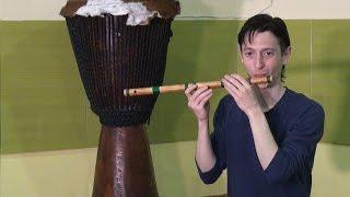 Мастер-класc. Этническая музыка   - флейта 1 часть.