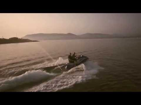 Aerial Video of Jet-Skiing in Greenore, Co. Louth, Ireland.