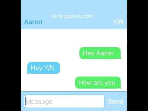 Aaron x Reader (part 1)