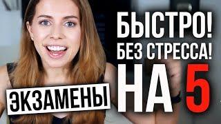 КАК ПОДГОТОВИТЬСЯ К ЭКЗАМЕНУ - 9 ШАГОВ К ПЯТЕРКЕ!