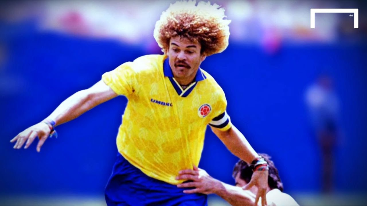 5545e04a75b Carlos Valderrama: Honour to represent Colombia | World Cup Memories ...