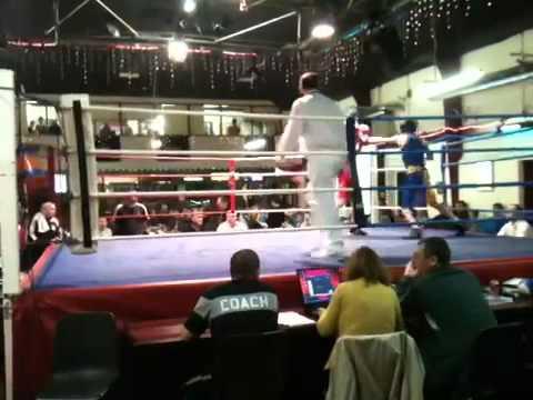 Luke caffrey from rush boxing club
