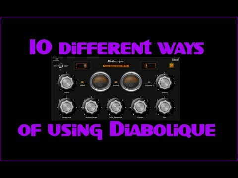 10 different ways of using Diabolique (Free VST plugin)