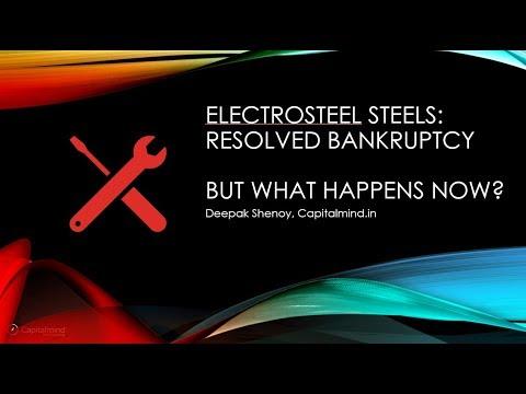 Electrosteel Steels: Bankruptcy Resolved, But...